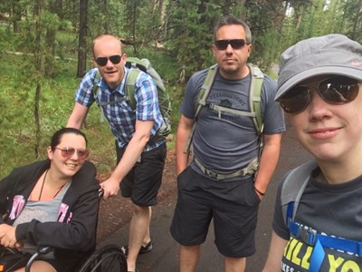 Birmingham management consultancy completes charity hike across Yellowstone National Park