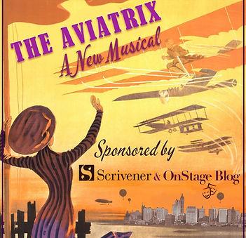 Aviatrix Poster 3 Square - Lily Dwoskin.