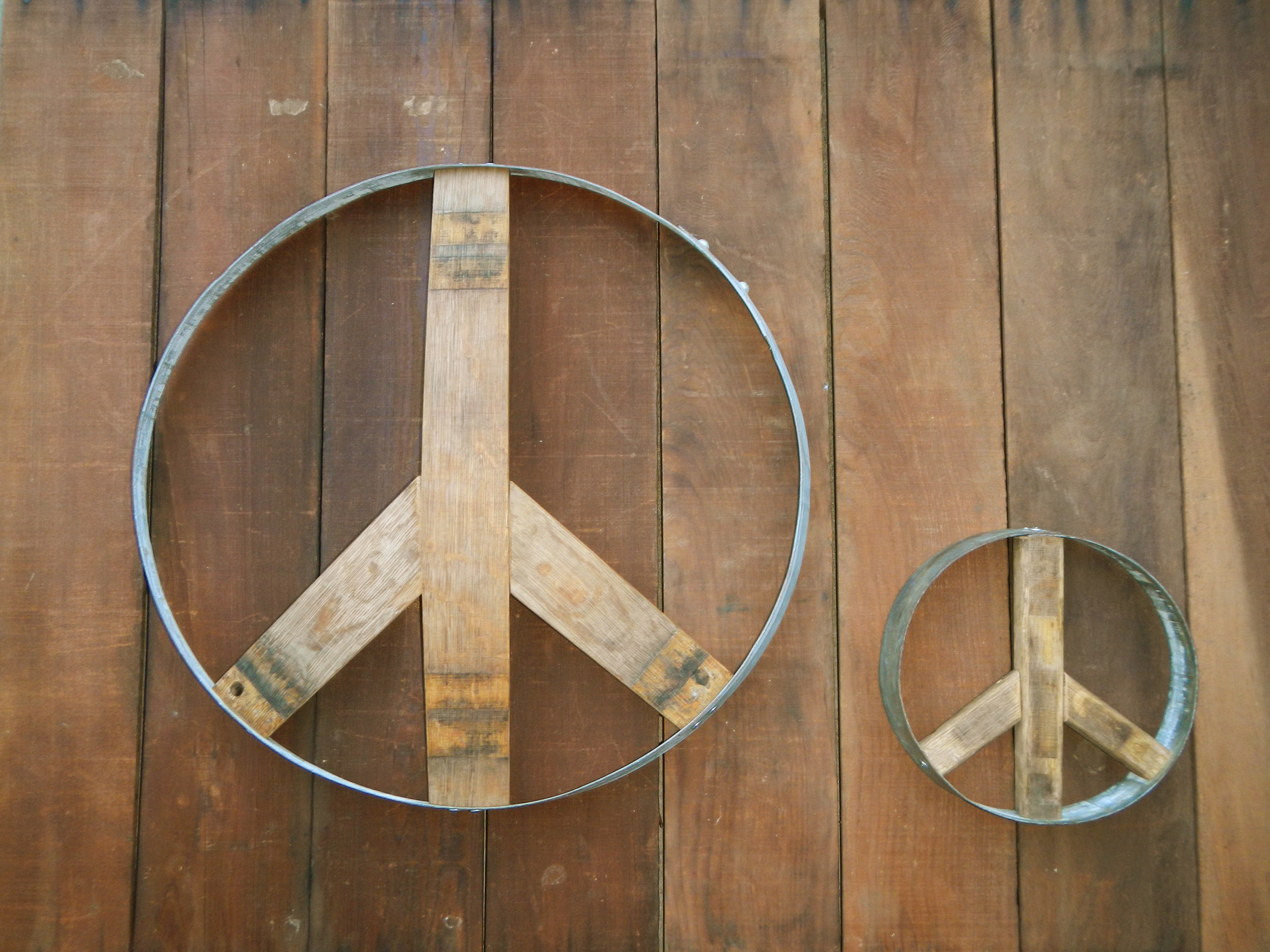 Peace Sign - Large & Small