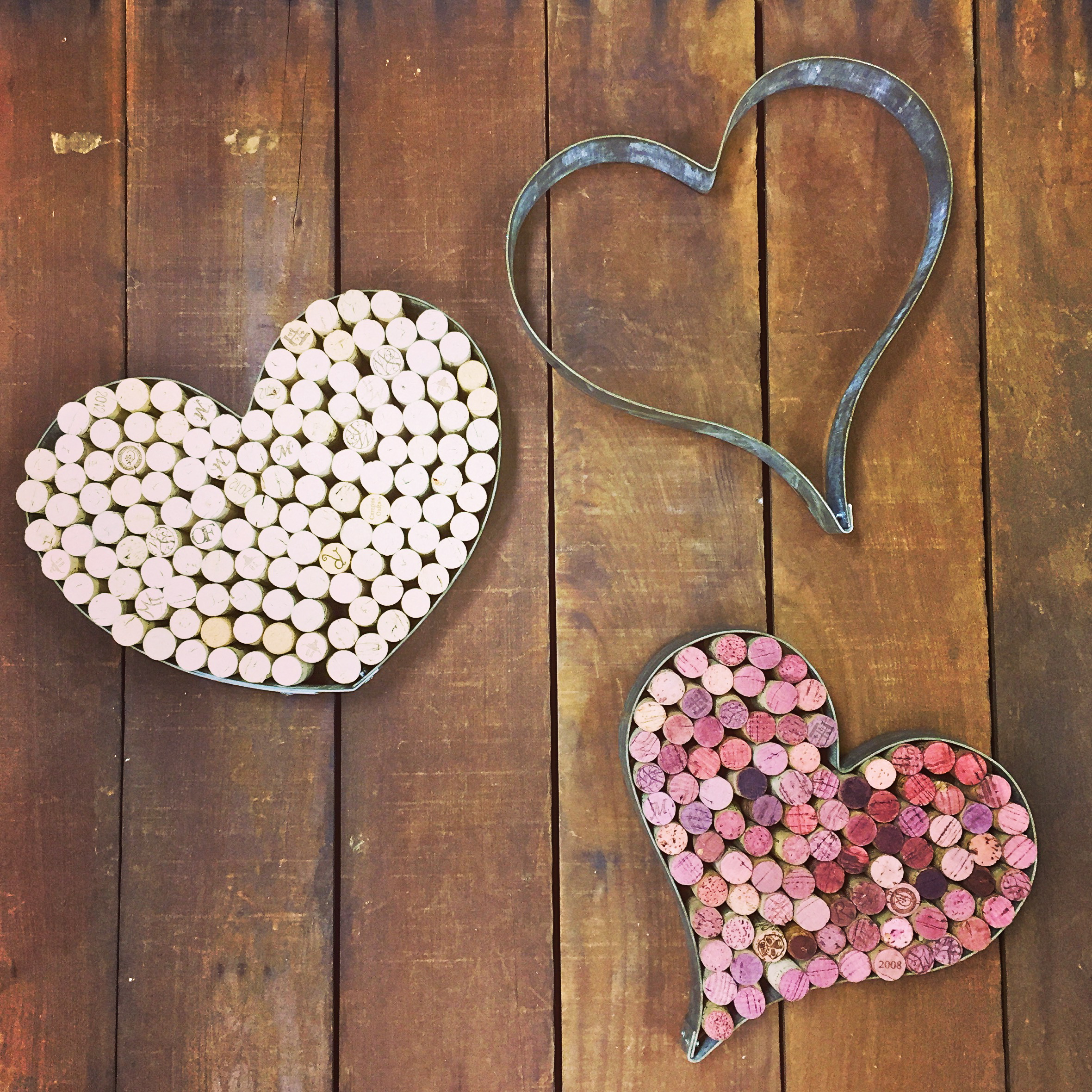 Corked Small Hearts