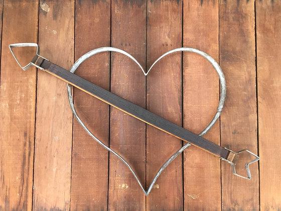 Cupid Arrow Heart - Large