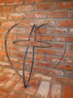 Cross Inside Heart