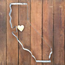 California w_ Heart