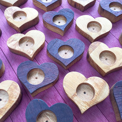 Heart Candle Holders