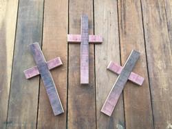Small Crosses Purple