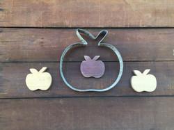 Apples - Wood and Metal