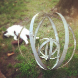 3 Hoop Orbs - Small and Large
