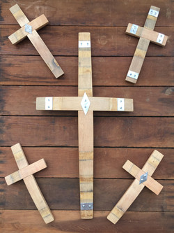 Large and Small Crosses