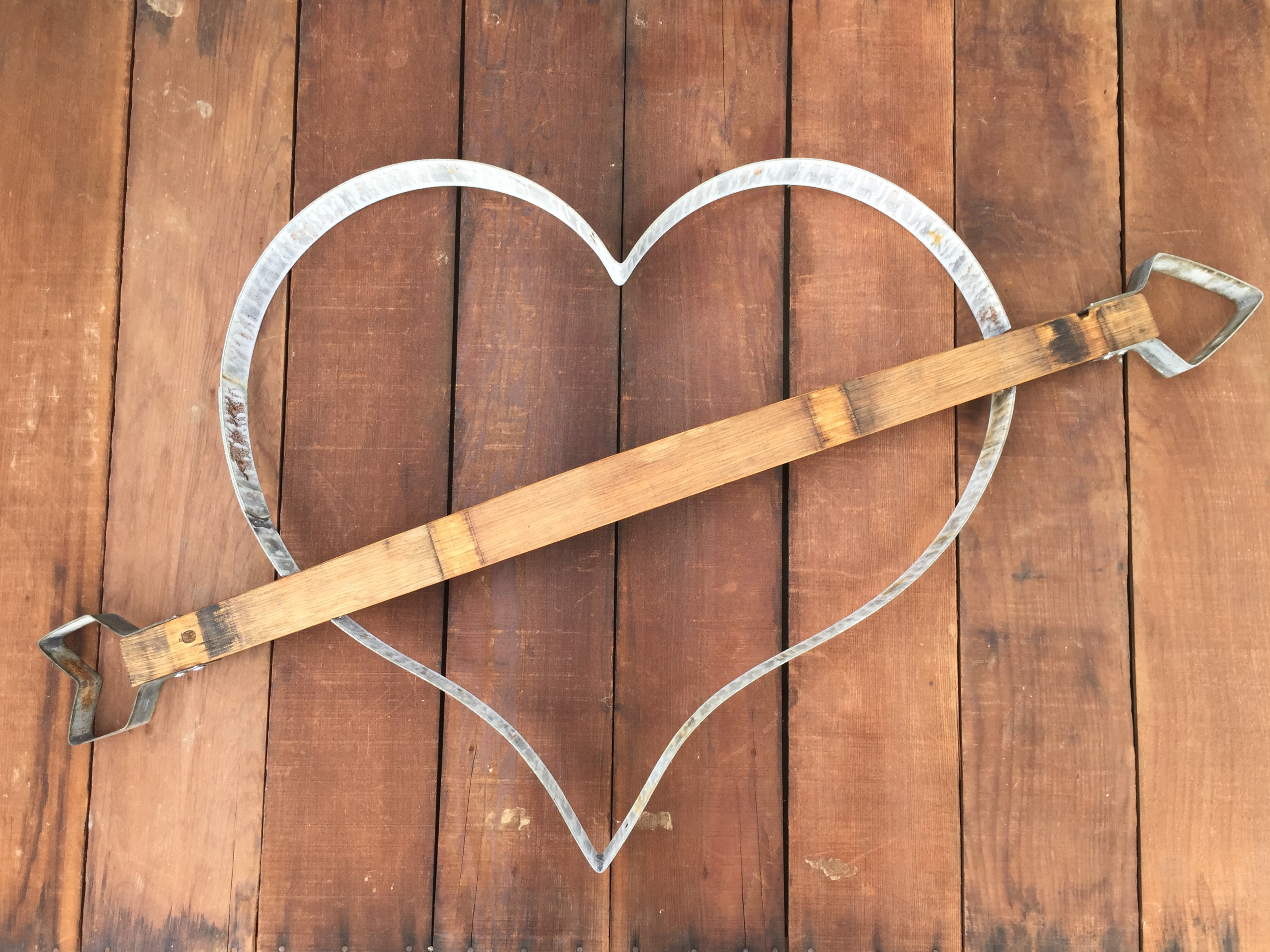 Cupid Arrow of Love Heart