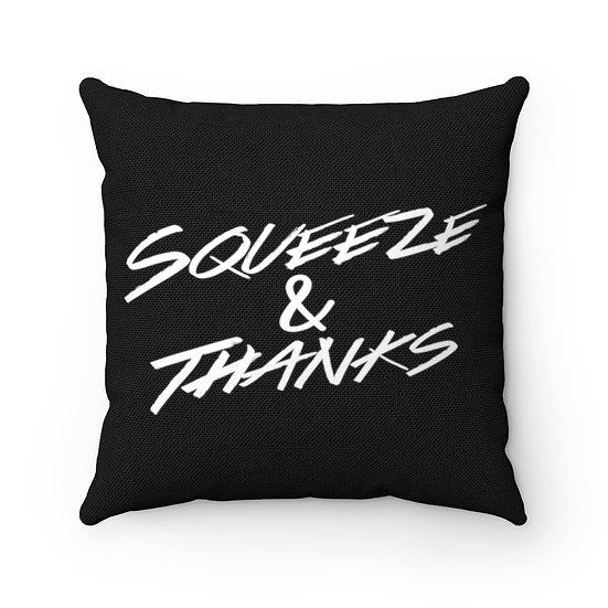 Throw Pillow - Black