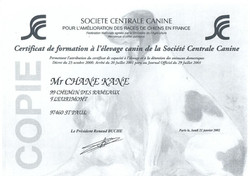Certificat de formation à l'élevage
