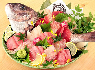 お祝い用 鮪と真鯛の紅白盛り.jpg