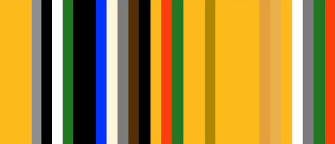 Color Sequence One by Jada Schumacher