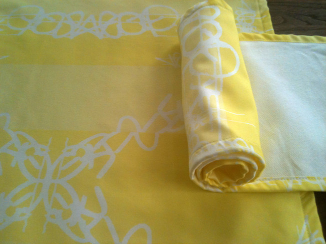 Berlin Baby Burping Cloth by Jada Schumacher for designorange