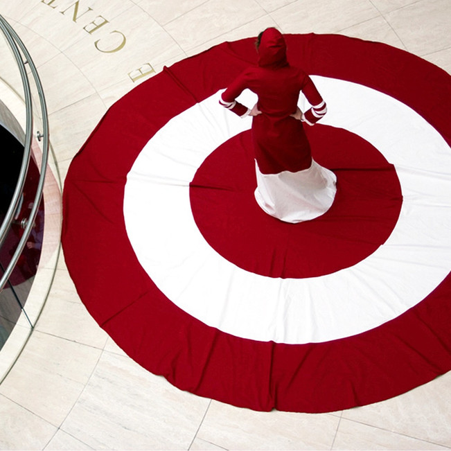Target Rug Dress by Jada Schumacher at Overture Center for the Arts
