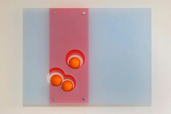 Still Life With Oranges by Jada Schumacher