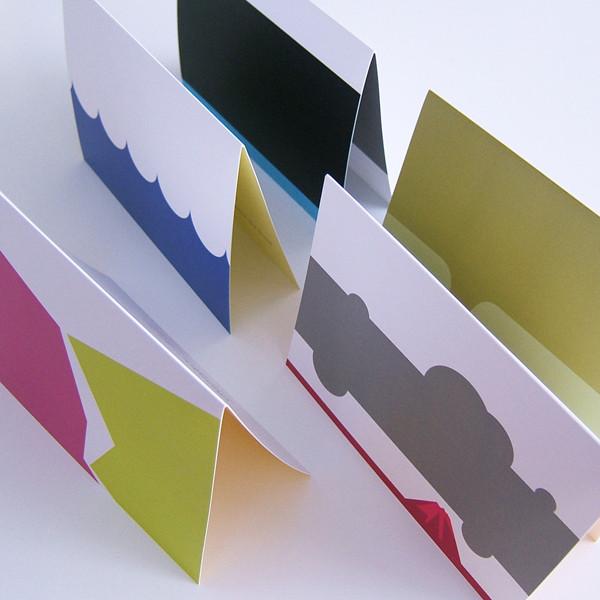 Disaster Etiquette Cards by Jada Schumacher for designorange