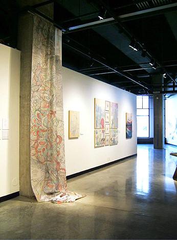 Puddling Curtain by Jada Schumacher
