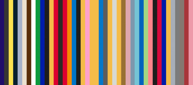The Color Sequences Project With Corresponding Words by Jada Schumacher