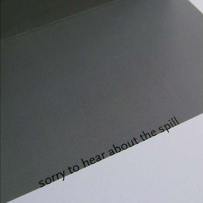 Spill Card Interior by Jada Schumacher for designorange