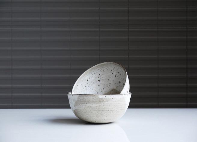 Seersucker Tile in Black by Jada Schumacher for Clay Imports