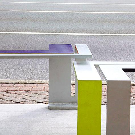 Edgy Bus Stop by Jada Schumacher