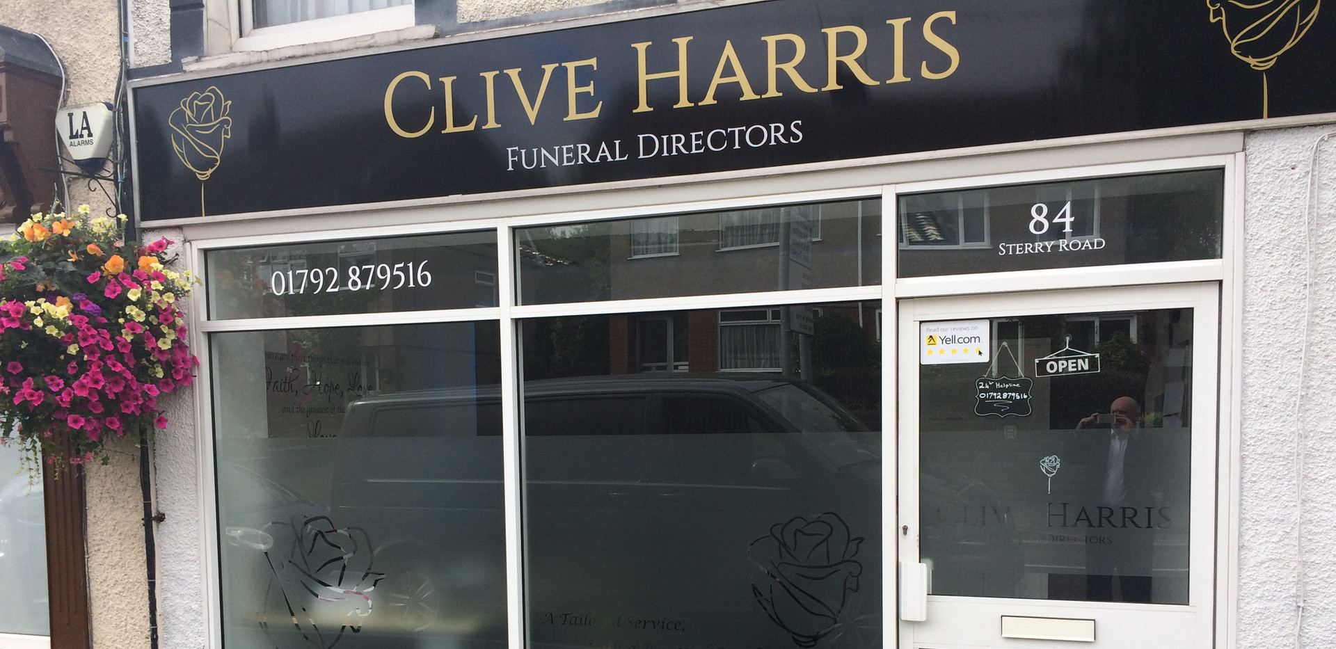 My shop front, 84 Sterry Rd