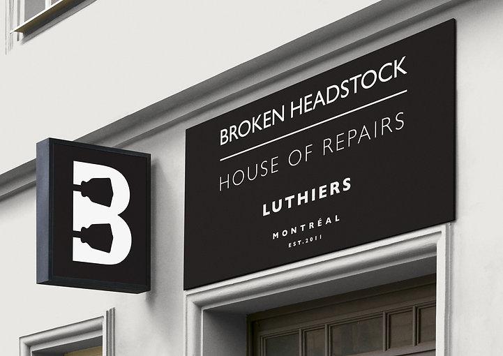 Broken Headstock