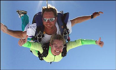 Skydiving in San Marcos, TX