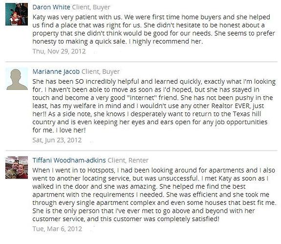 San Marcos tx client recommendations