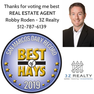 Best Real Estate Agent Robby Roden 3Z Re