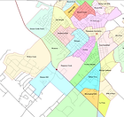 Map of San Marcos TX Subdivisions