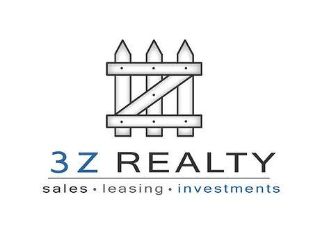 3Z Realty White Logo