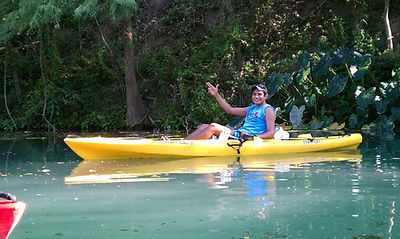 San Marcos TX river kayaking