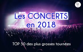 Un nouveau record de ventes de concerts en 2018 malgré des prix en augmentation fulgurante