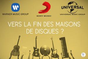vers la fin des maisons de disques warner sony universal music