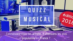 [QUIZZ] Connaissez-vous les chansons les plus écoutées en France en 2018 ?