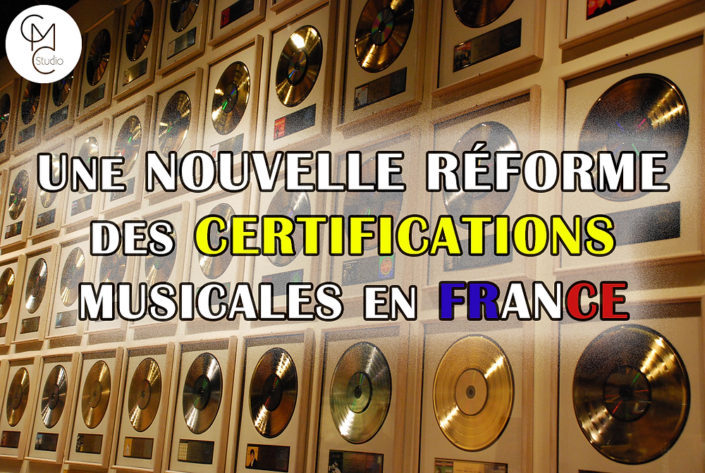 certification musique disque d'or france snep réforme streaming streams