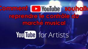 Youtube : de nouvelles fonctionnalités pour les artistes & le lancement d'une plateforme de