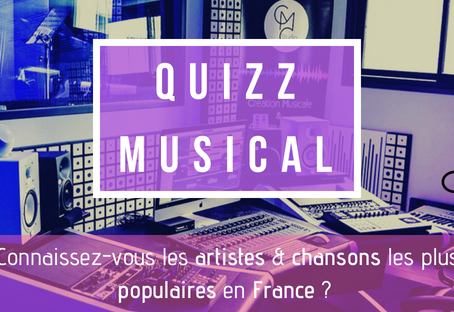 [QUIZZ] Connaissez-vous les artistes les plus écoutés en France ?