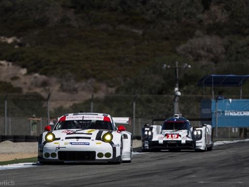 Porsche 911RSR and 919 at Rennsport Reunion V