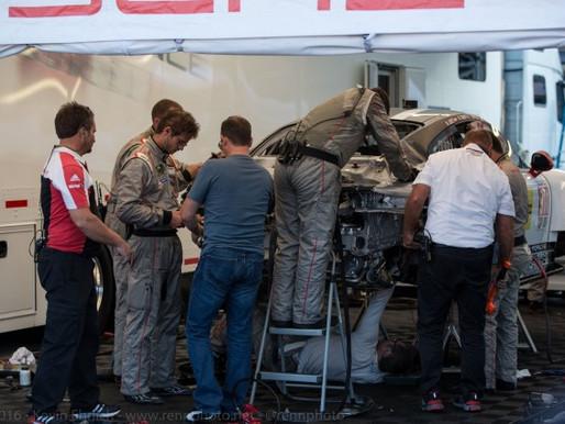 Porsche 911 GTLM Repairs