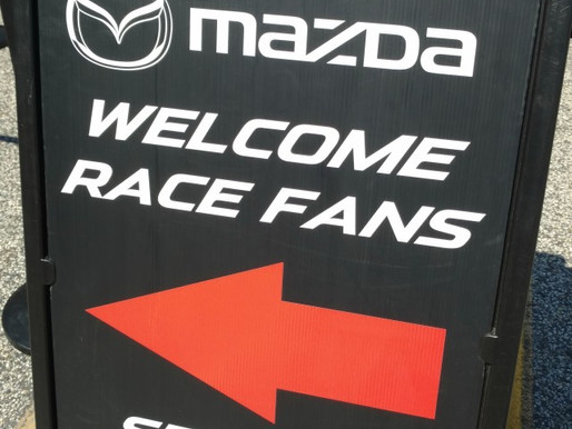 Mazda Welcome Race Fans