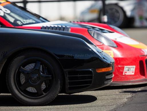 2016 Sonoma PwC Paddock – Wright Racing 959 and 911 Race car