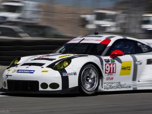 2017 Porsche 911 RSR development