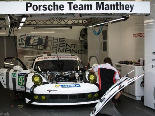 WEC Works Porsche 911 GTE program done?
