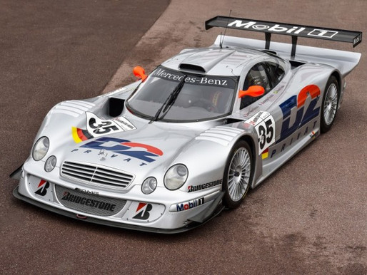 Buying a race car direct from the Mercedes Museum?