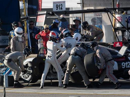 Porsche 912 Pit Stop Practice
