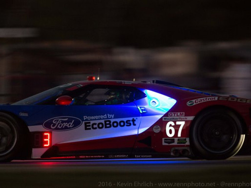 Ford GT Night Practice