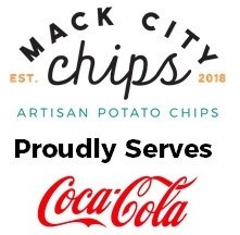 Mack City Chips Proudly Serves Coca-Cola